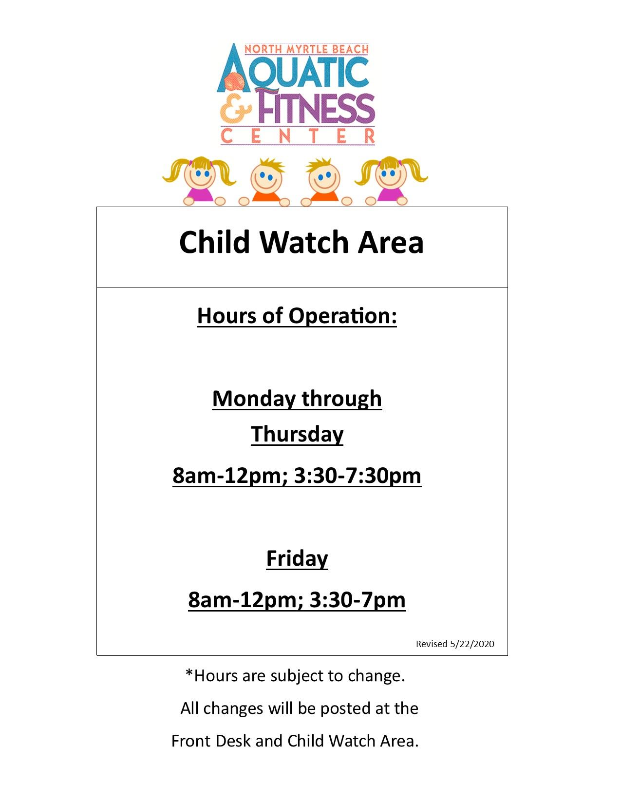 Child Watch Guidelines