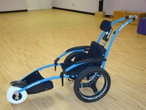 Wheelchair with Three Wheels